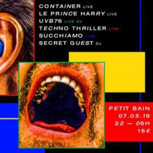 Tmr Party : Le Prince Harry + Uvb76 + Container + Succhiamo ...