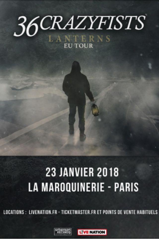 36 CRAZYFISTS @ La Maroquinerie - PARIS
