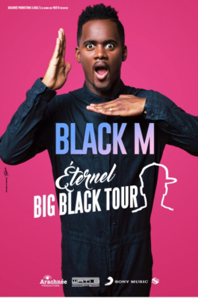 BLACK M @ Zénith de Rouen - Le Grand Quevilly