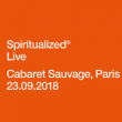Concert SPIRITUALIZED à Paris @ Cabaret Sauvage - Billets & Places