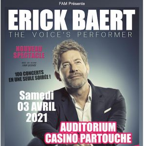 Erick Baert - The Voice's Performer À Hyères