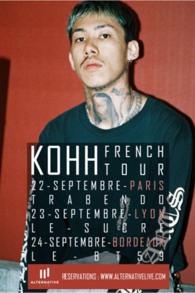 KOHH + GUEST @ Le Trabendo - Paris