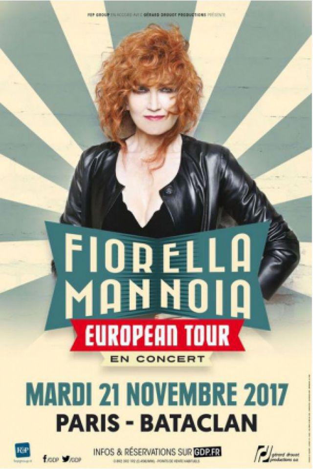 FIORELLA MANNOIA @ LE BATACLAN - PARIS