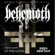 Concert BEHEMOTH / AT THE GATES / WOLVES IN THE THRONE ROOM