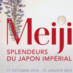 visite guidée exposition MEIJI au musée Guimet, avec M. Lhéritier @ musée national des arts asiatiques - Guimet - PARIS