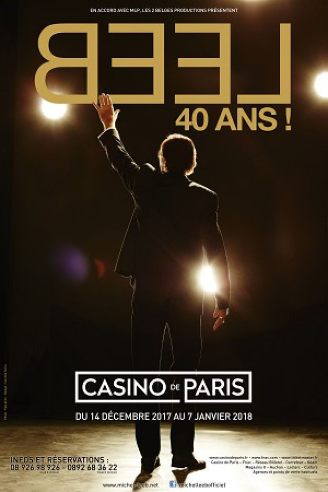 MICHEL LEEB One Man Show @ Casino de Paris - Paris