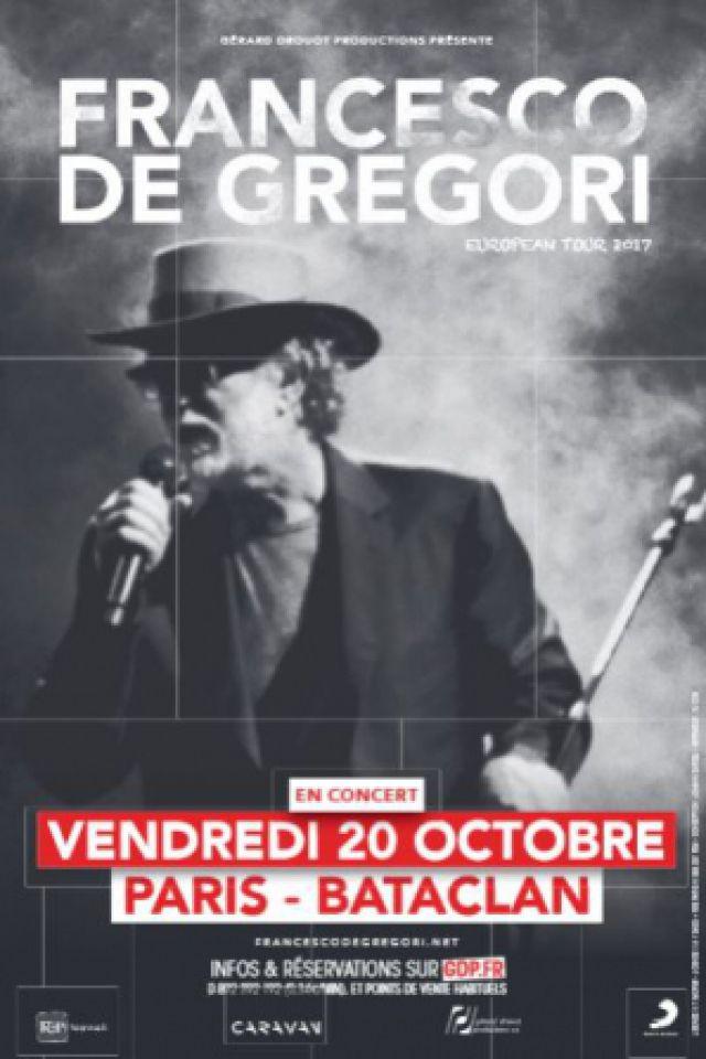 FRANCESCO DE GREGORI @ LE BATACLAN - PARIS