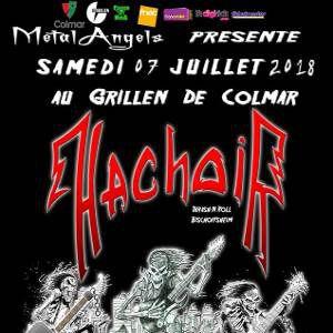 Hachoir / Of Steel  @ Le GRILLEN - COLMAR