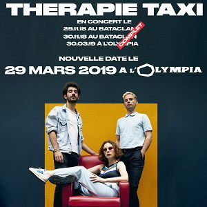 Billets THERAPIE TAXI  - L'Olympia