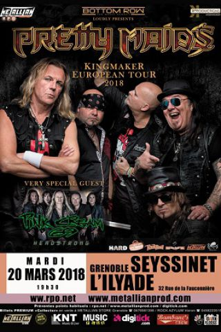 Concert PRETTY MAIDS / PINK CREAM 69 à SEYSSINET PARISET @ L'ILYADE - Billets & Places