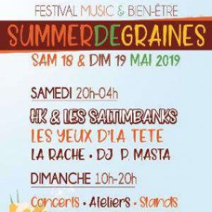 Festival Summer De Graines - Samedi Soir