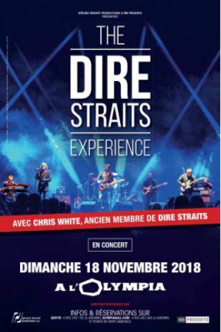 Concert THE DIRE STRAITS EXEPRIENCE  à Paris @ L'Olympia - Billets & Places