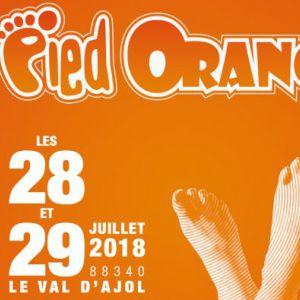 FESTIVAL LE PIED ORANGE 2018 - PASS 2 JOURS @ CHEZ NARCISSE - LE VAL D'AJOL