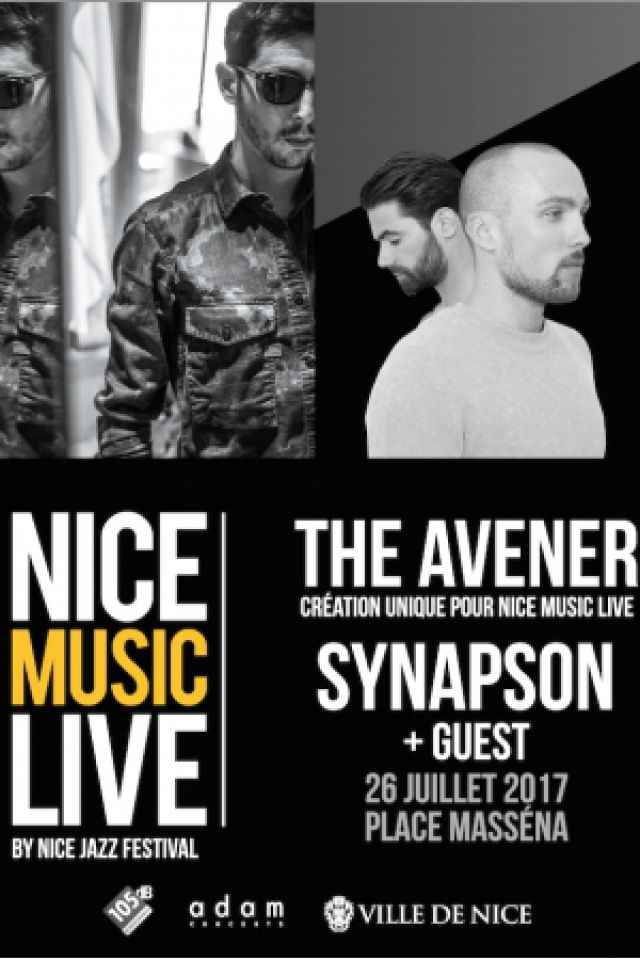 Billets THE AVENER + SYNAPSON + Nicolas MONIER - LA SCENE MASSENA – JARDIN ALBERT 1ER