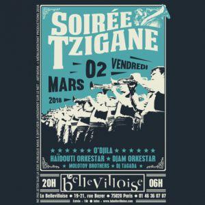 SOIREE TZIGANE + FIESTA QUE CALOR @ La Bellevilloise - Paris