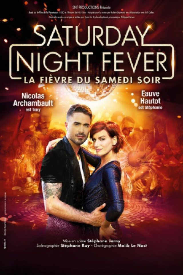 spectacle saturday night fever toulouse zenith