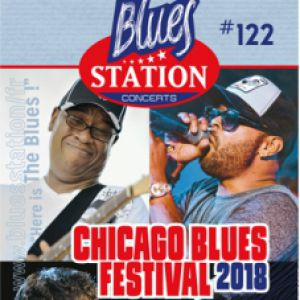 49e Chicago Blues Festival feat. Mike Wheeler band, Omar Coleman  @ Salle de l'Abescat Ville Haute - Tournon d'Agenais