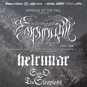 EMPYRIUM + HELRUNAR +  SUN OF THE SLEEPLESS   @ La Laiterie - Club - Strasbourg