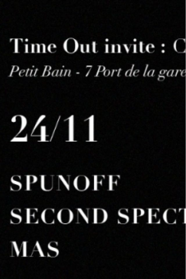 TIME OUT INVITE CHAMP LIBRE @ Petit Bain - PARIS