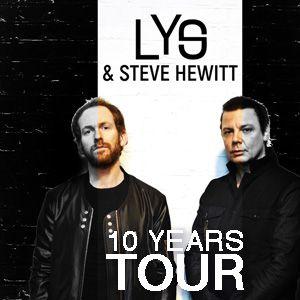 LYS & STEVE HEWITT  10 YEARS TOUR @ LE BOEUF SUR LE TOIT - LONS LE SAUNIER