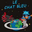 Spectacle le chat bleu
