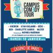 Concert Soirée de Clôture Campus Comedy Tour  à PARIS @ Casino de Paris / Machine du Moulin Rouge - Billets & Places
