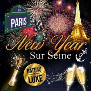 BATEAU NEW YEAR sur Seine @ Bateau Belle Vallée - PARIS