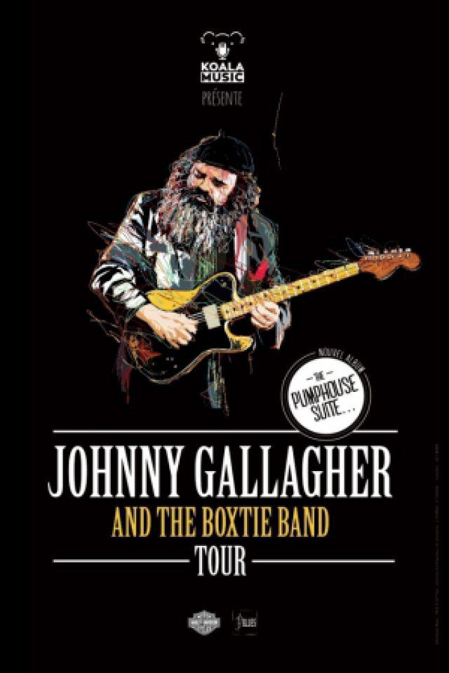 Concert JOHNNY GALLAGHER & THE BOXTIE BAND à BORDEAUX @ Le Bootleg - Billets & Places