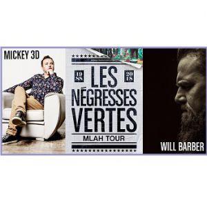 Negresses Vertes, Mickey 3D, Will Barber @ Gare de Volvic - VOLVIC