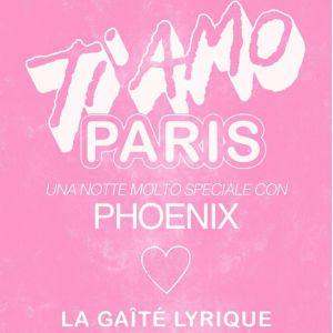 PHOENIX - TI AMO PARIS avec Halo Maud et Dodi El Sherbini @ La Gaîté Lyrique - Paris