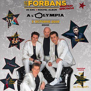 LES FORBANS - 40 ANS @ L'Olympia - Paris