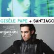 Carte Concert Gisèle Pape + Santiago // Mégaphone Tour à PARIS @ La Ferronnerie-Centre d'animation Montgallet - Billets & Places