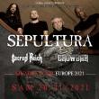 Concert SEPULTURA + SACRED REICH + CROWBAR