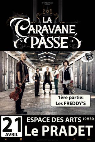 Concert LA CARAVANE PASSE - LES FREDDY'S à LE PRADET @ Espace des Arts - Billets & Places