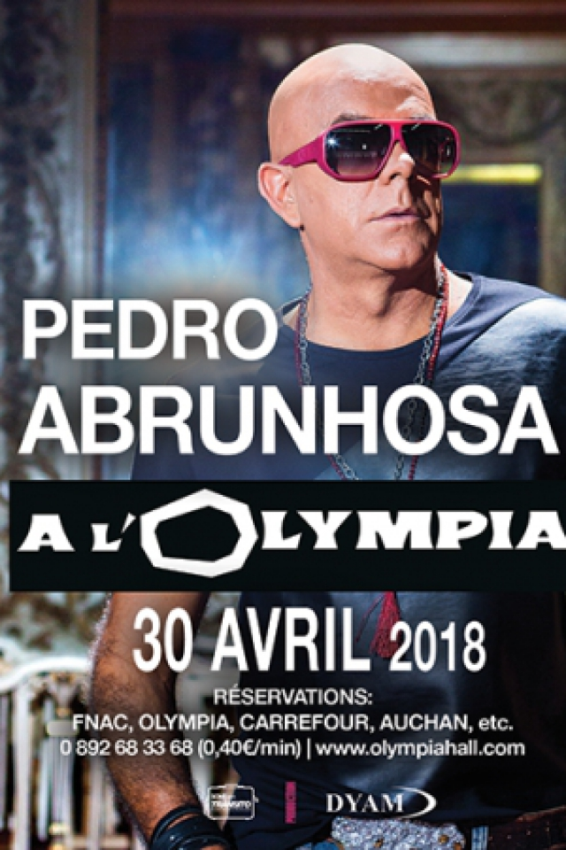 PEDRO ABRUNHOSA @ L'Olympia - Paris