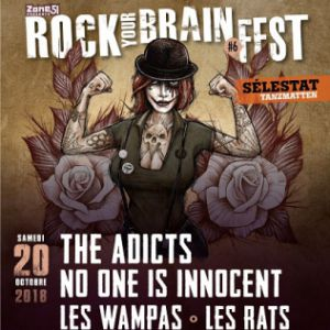ROCK YOUR BRAIN FEST #6 @ Les Tanzmatten - SÉLESTAT