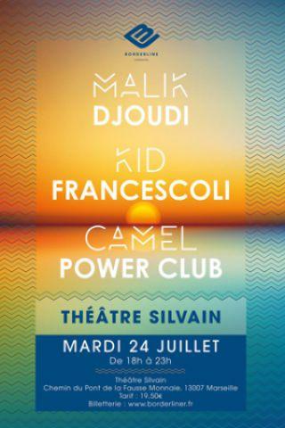 Billets Kid Francescoli+ Malik Djoudi+ CPC+ Borderline au théâtre Silvain - Théâtre Silvain