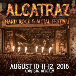 Alcatraz Hard Rock & Metal Festival 2018 - Dayticket Friday @ Sportcampus Lange Munte - Kortrijk