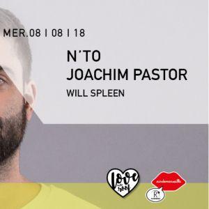 R2 Rooftop : N'to, Joachim Pastor, Will Spleen @ ROOFTOP R2 Marseille - MARSEILLE