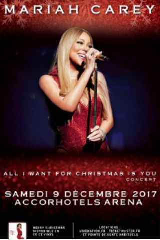 Concert MARIAH CAREY à PARIS @ ACCORHOTELS ARENA - Billets & Places