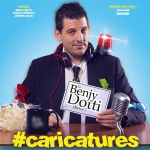 Benjy Dotti - #Caricatures @ Oméga Live - Toulon