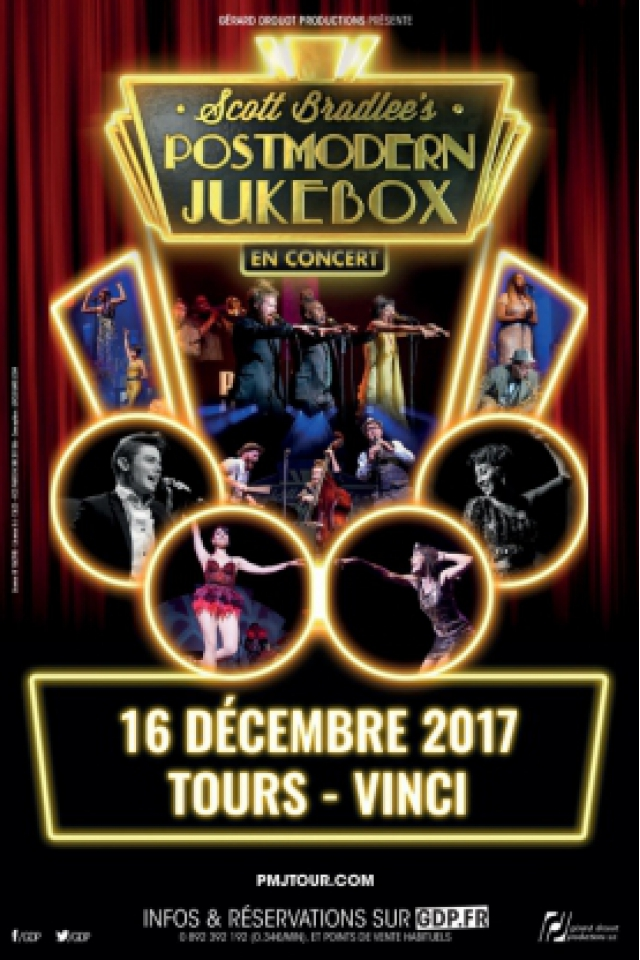 SCOTT BRADLEE'S POSTMODERN JUKEBOX @ Le Vinci - Auditorium François 1er - Tours