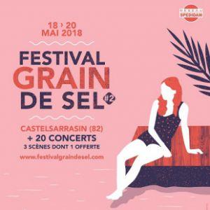 FESTIVAL GRAIN DE SEL - Pass 3 Jours @ Salle Jean Moulin - Castelsarrasin