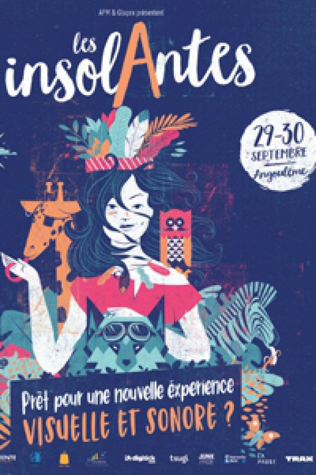 FESTIVAL LES INSOLANTES - SAMEDI @ Centre Universitaire de la Charente  - LA COURONNE
