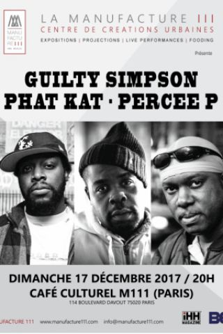 Billets Guilty  Simpson, Phat Kat & Percee P - M111 Café culturel