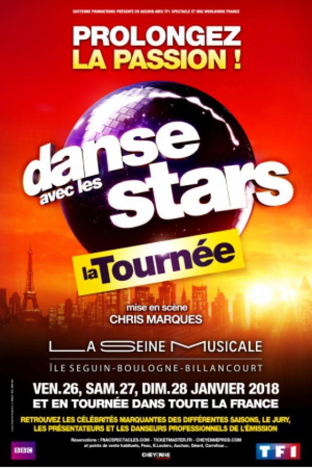 DANSE AVEC LES STARS - LA TOURNÉE @ Zénith d'Auvergne -  Cournon