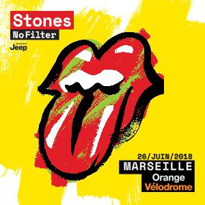 Billets THE ROLLING STONES - Orange Vélodrome
