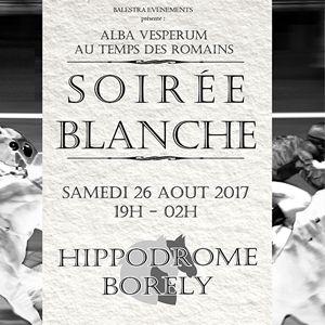 Billets Alba Vesperum - Soirée Blanche - Hippodrome Marseille Borély