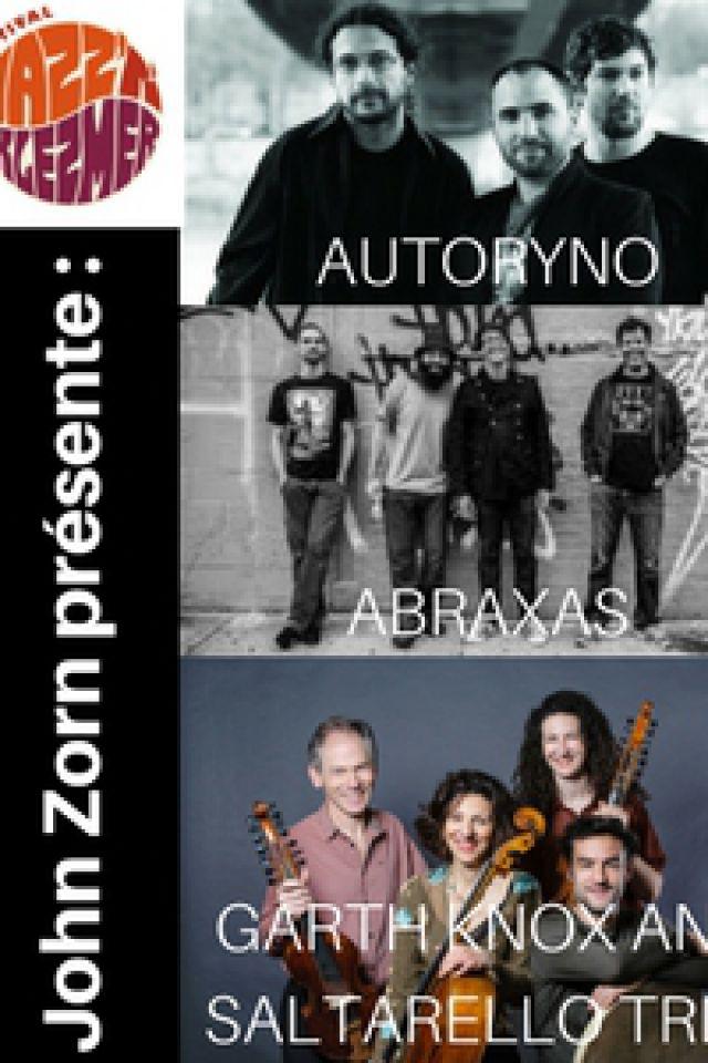 ABRAXAS/AUTORYNO/GARTH KNOX AND SALTARELLO TRIO @ New Morning - Paris