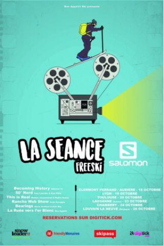 Billets La Seance Freeski - Pathé Vaise